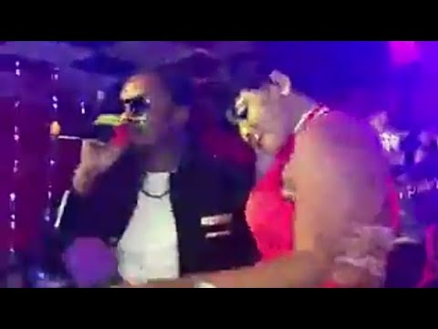 Azaya & Djelikaba Bintou en live au Ibiza Night Club (14/02/2018)