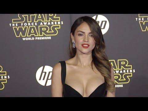 """Eiza González """"Star Wars The Force Awakens"""" World Premiere"""