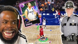 ROTY LUKA DONCIC Made The Neighbors Call The Cops On Me! NBA 2K19