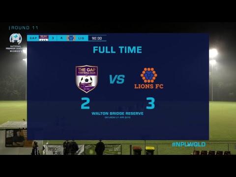 NPLW R11: The Gap FC v Lions FC