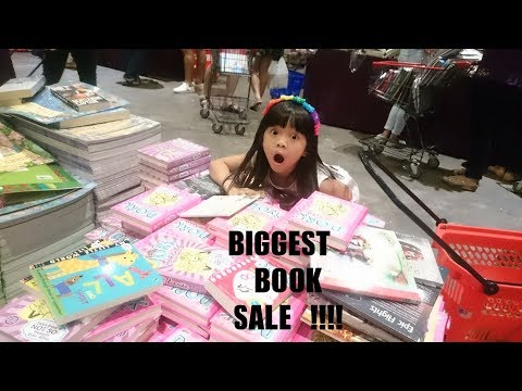 BIGGEST BOOK FAIR   2 MILLION BOOKS !!!   SUPERB   BIG BAD WOLF   PART 1