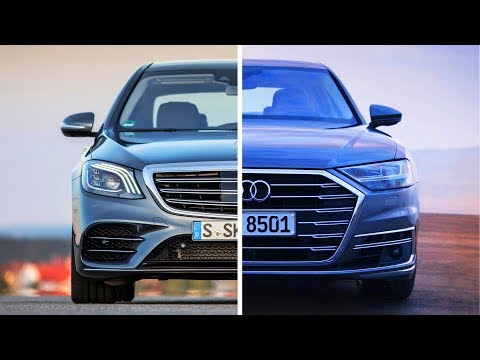 Mercedes S-class VS Audi A8 - comparison