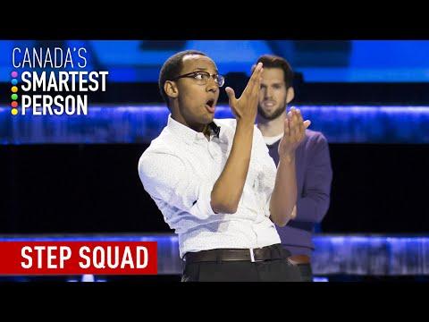 Step Squad Challenge   Canada's Smartest Person   CBC