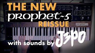 """THE NEW PROPHET 5 REISSUE - JULIAN """"J3PO"""" POLLACK DEMO"""