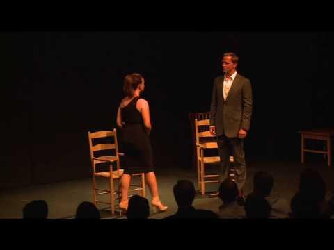 Dervla Kirwan & Rupert PenryJones at Making Light