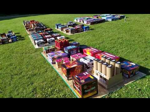 """The Purge"" Phat Dog backyard PyroMusical firework show 4th July 2017 cobra firing system"