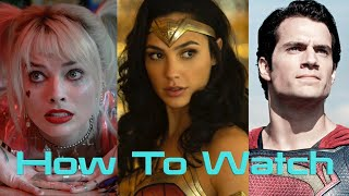 How To Watch The DCEU In Chronological Order (Updated W/ Wonder Woman 1984)