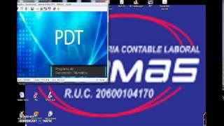 DECLARACION PDT 0621 EN CERO