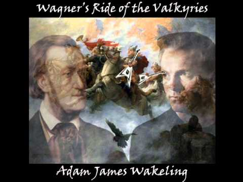 Wagner's Ride of the Valkyries (Heavy Rock Version) - Adam James Wakeling
