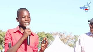 Watch this young Masvingo boy as he  congratulates Nelson Chamisa on his electoral victory