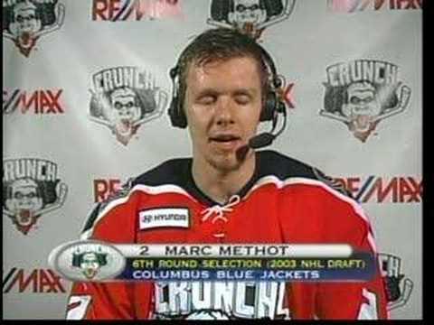 Marc Methot  Interview 2/16/08
