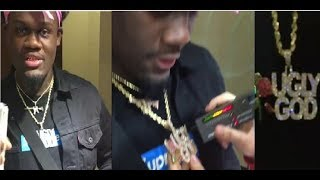 Ugly God Clowns NY savages for trying to Take his Chain and Failing.