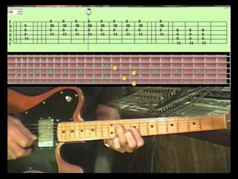 Play lead guitar