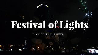 Reimagine the Magic: A Festival of Lights 2018 | Ayala Triangle Gardens, Makati