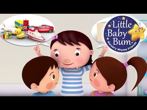Tidy Up Song | Nursery Rhymes | Original Song by LittleBabyBum!