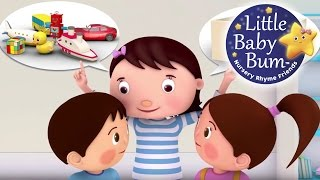 Tidy Up Song | Nursery Rhymes | Original Song by LittleBabyBum