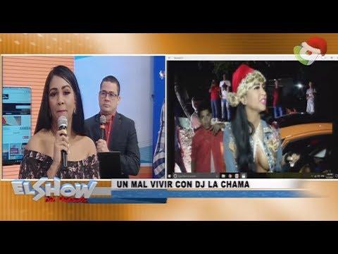 ¡En exclusiva! Dj la Chama llega al Show del Mediodía para aclarar la situación ocurrida en Las terr