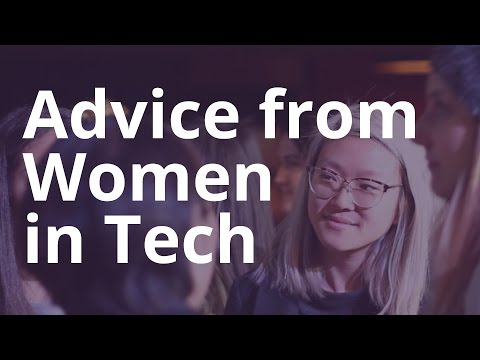 Women in Tech offer Advice to the Next Generation