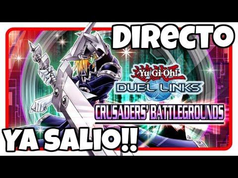 Comprando NUEVA CAJA Crusaders Battlegrounds | Yu-Gi-Oh! Duel Links en Español