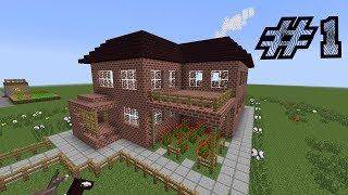 як в грі minecraft зробити будинок