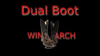 How to Dual Boot: Windows 8.1 & Arch Linux (separate hard drive)