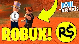 🔴 ARREST ME FOR ROBUX! | 2K SUBSCRIBERS! | NEW JAILBREAK MERCH SOON! | (Roblox Jailbreak LIVE)