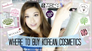 Where I Buy Korean Beauty, Skincare, and Cosmetics ♥ The Beauty Breakdown