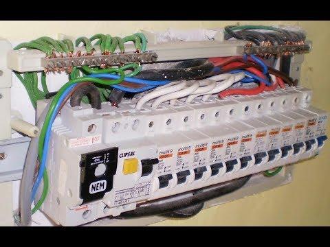 Single phase distribution board wiring urdu &hindi - YouTube