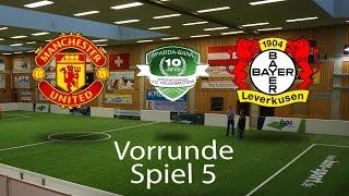 Spiel 05: Manchester United 2-0 Bayer 04 Leverkusen │U12 Hallenmasters TuS Traunreut 2017