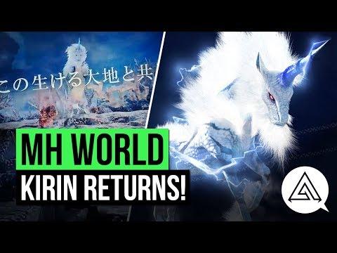 Download Youtube: Monster Hunter World News | Kirin Returns in New MHWorld Commercial!