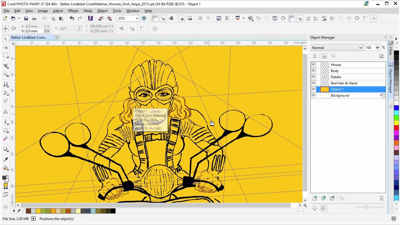 Corel draw pdf belajar x4
