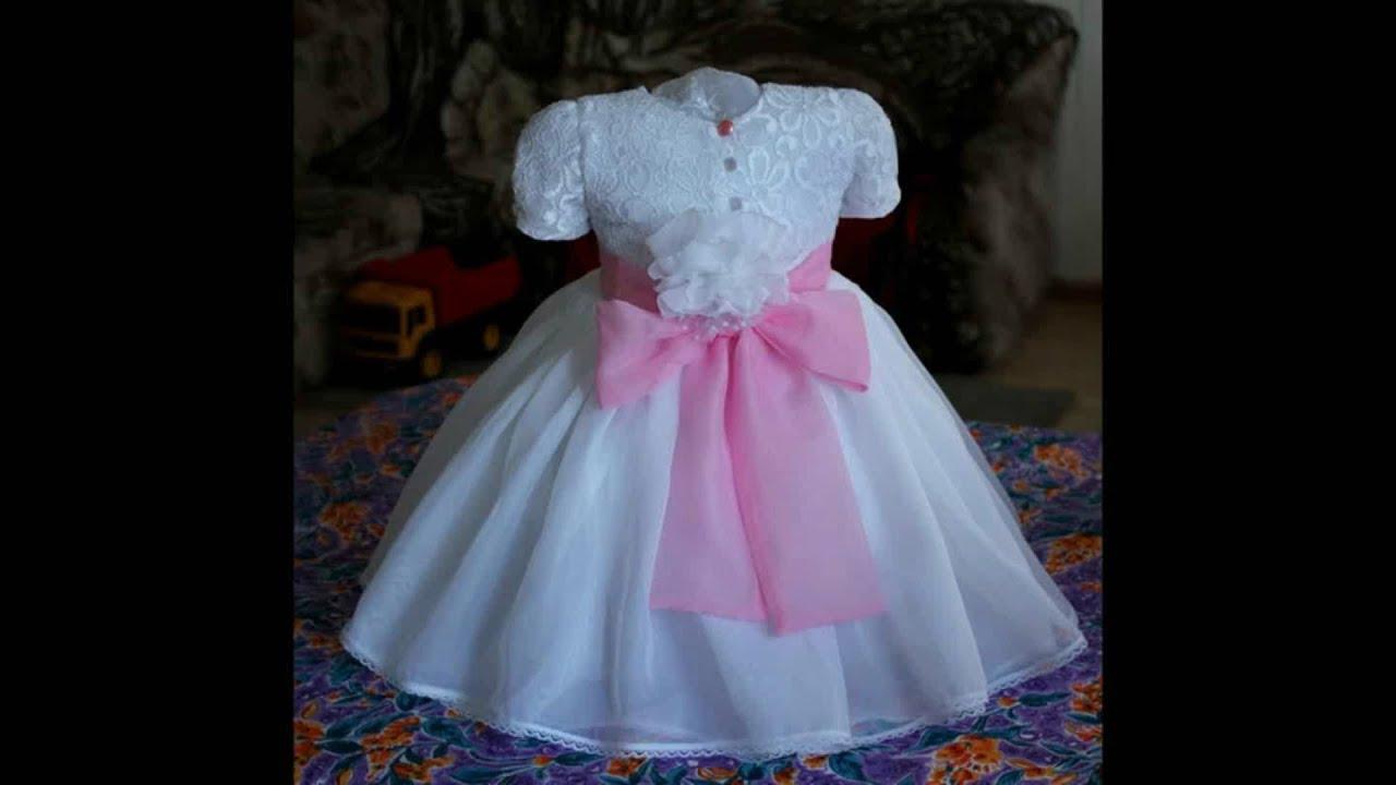 Нарядные платья для девочек пошить своими руками