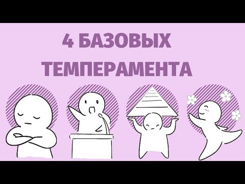 Девид Кейрси: 4 темперамента [Psych2Go на русском]