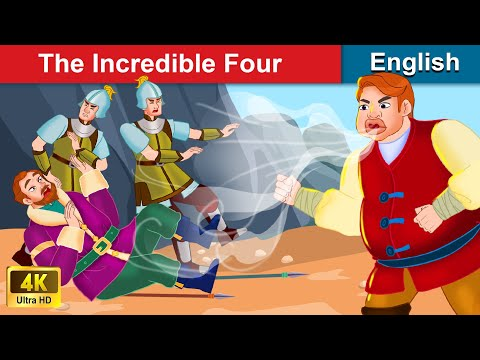 The Incredible Four 👨👨👦👦 Bedtime stories 🌛 Fairy Tales For Teenagers | WOA Fairy Tales