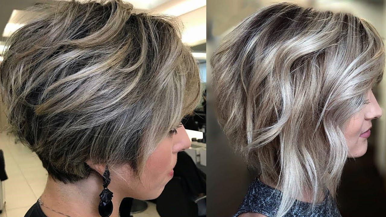 Cortes de cabello en capas chiquito