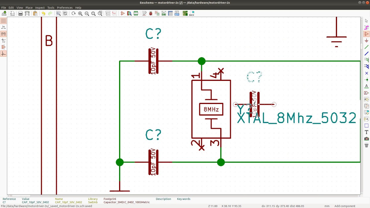 kicad schematic design 20 adding ethercat interface to my motor control board [ 1280 x 720 Pixel ]