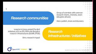 OpenAIRE Dashboard for Research Communities (live demo) by Alessia Bardi thumbnail