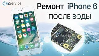 Iphone 5s - восстанавливаем, сушим после воды