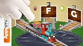 Kids ABC Letter Trains - app/game demo for kids
