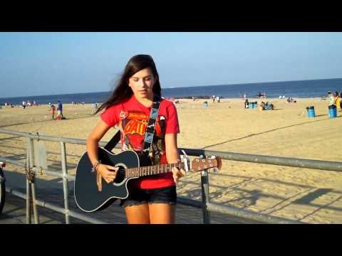 You Know I'm No Good - Amy Winehouse (Acoustic Cover) On the beach!