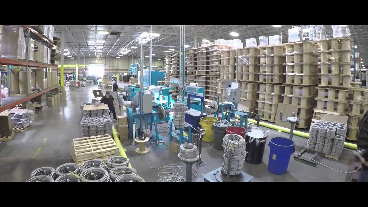 Encore Wire McKinney, TX - YouTube