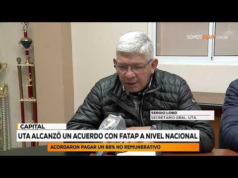 UTA Alcanzó Un Acuerdo Con FATAP A Nivel Nacional | Somos Jujuy