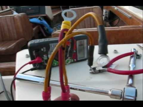 1983 Johnson 90 v4 rectifier diagnosis and replacement - YouTube