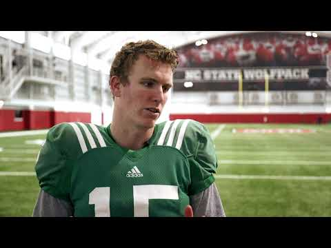 Ryan Finley Discusses His NC State Online Experience
