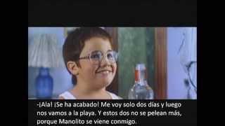 Trailer Manolito Gafotas subtitulado en español