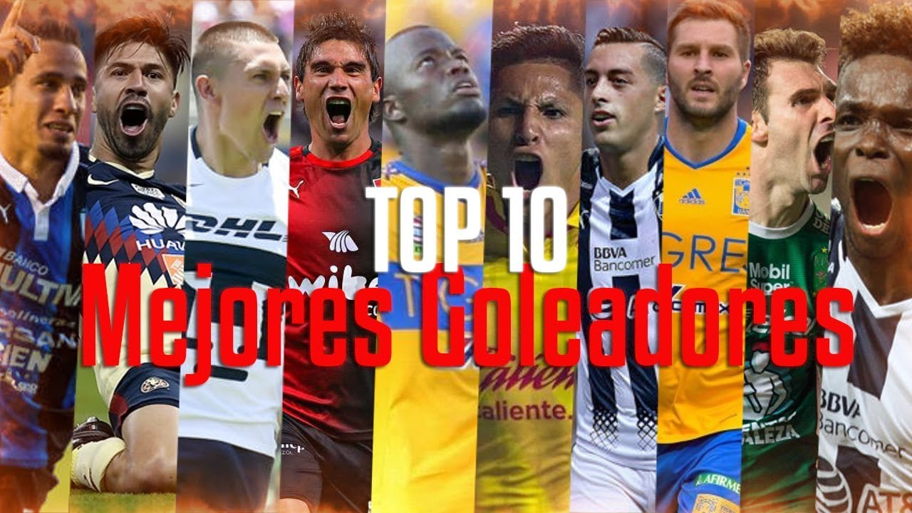 TOP 10 - Mejores Goleadores Liga MX 2017