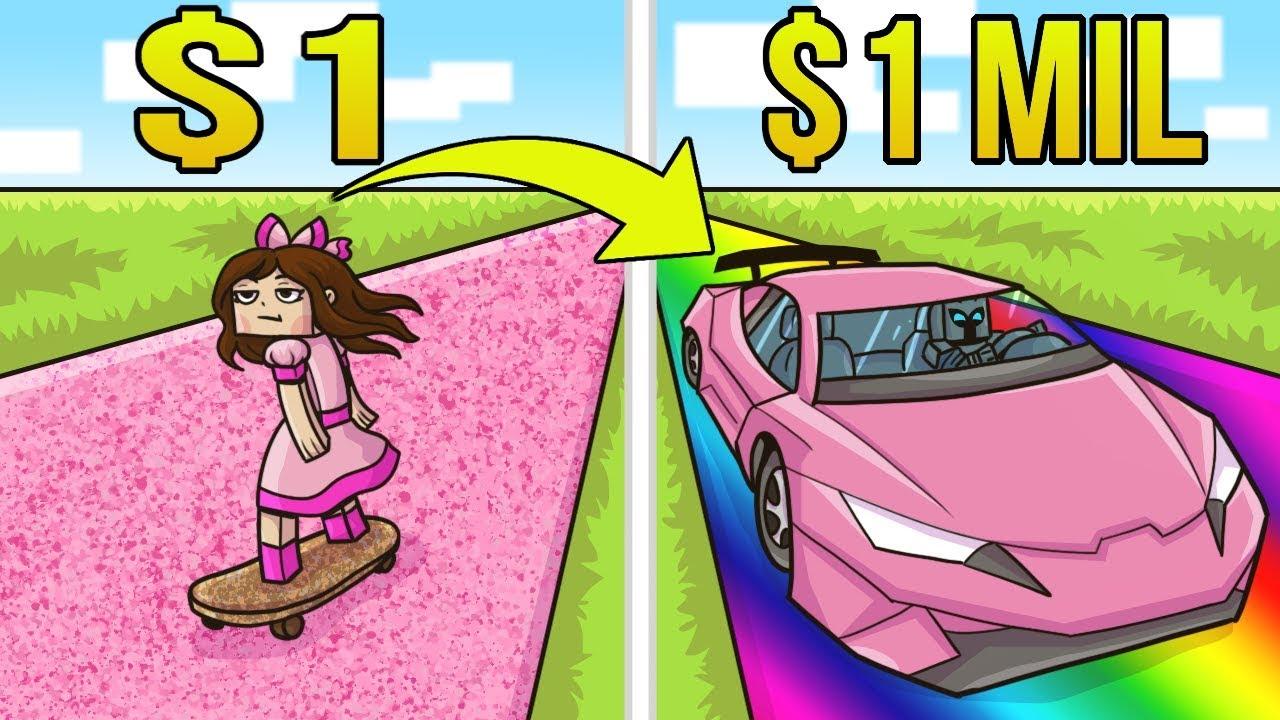 Minecraft: 1 DOLLAR CAR VS 1,000,000 DOLLAR SUPER CAR!!! Crafting Mini-Game