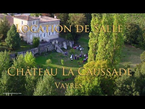 Château La Caussade - Location Salle de mariage