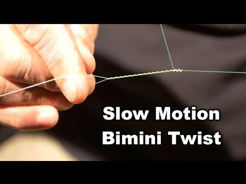 Slow Motion Bimini Twist | Saltwater Experience