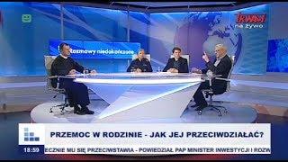 Rozmowy niedokończone: Przemoc w rodzinie - jak jej przeciwdziałać? cz.I